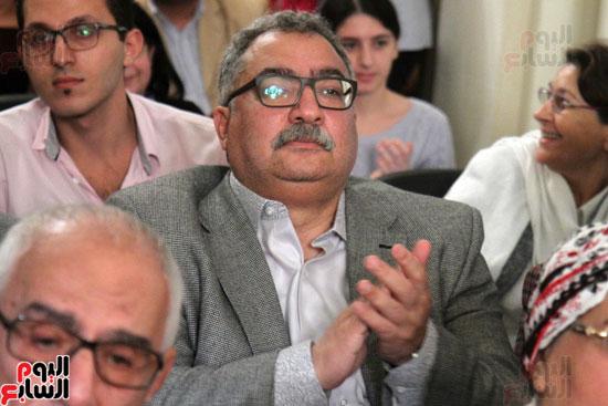 صور حفل توقيع كتاب لمحمد سلماوى (7)