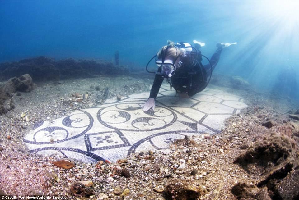 اكتشاف مدينة رومانية قديمة غارقة  (2)