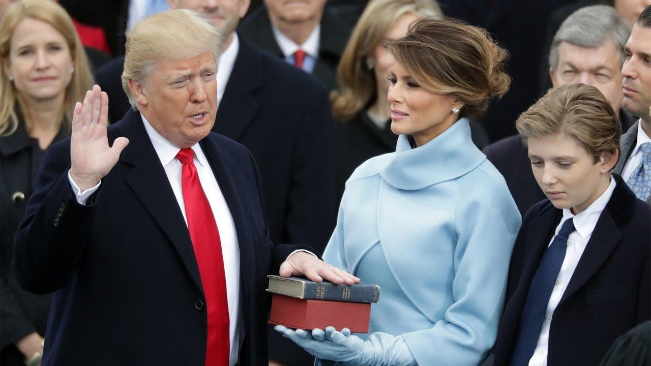 ترامب يؤدى اليمين رئيساً للولايات المتحدة قبل أقل من عام