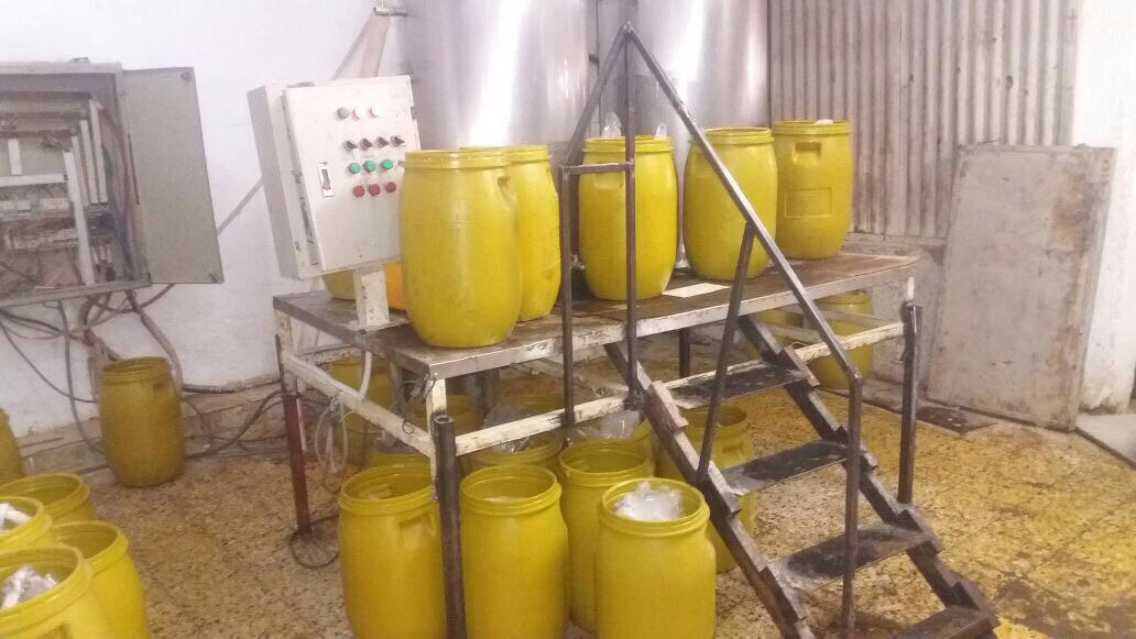 التموين  مصنع تعبئة مواد غذائية3