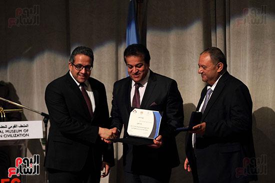 اليونسكو تكرم عددا من الوزراء والعاملين  (3)