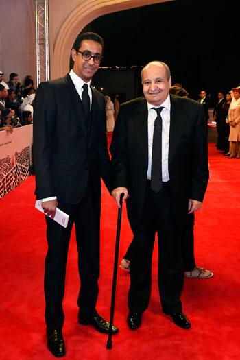 وحيد حامد ونجله المخرج مروان حامد