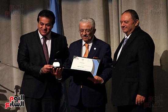 اليونسكو تكرم عددا من الوزراء والعاملين  (5)