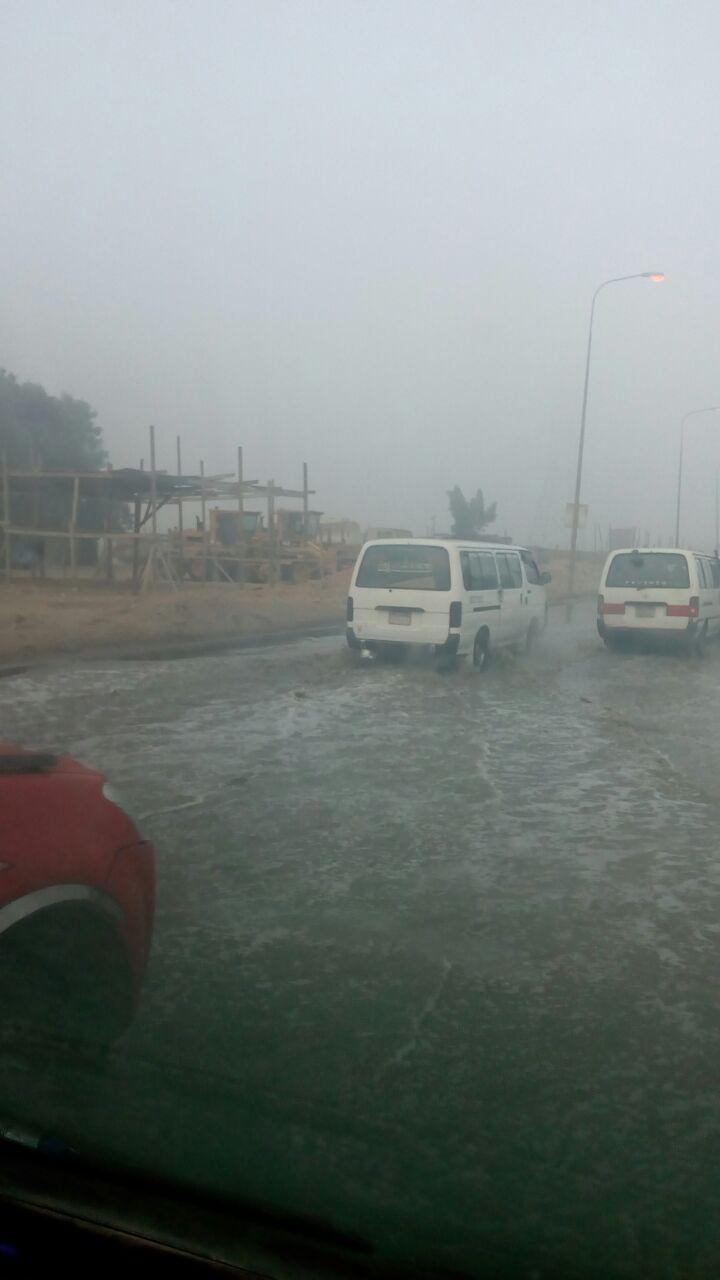 غرق السيارات فى المياه باكتوبر