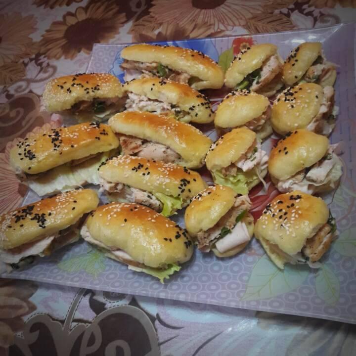 طريقة عمل مينى ساندوتش (1)