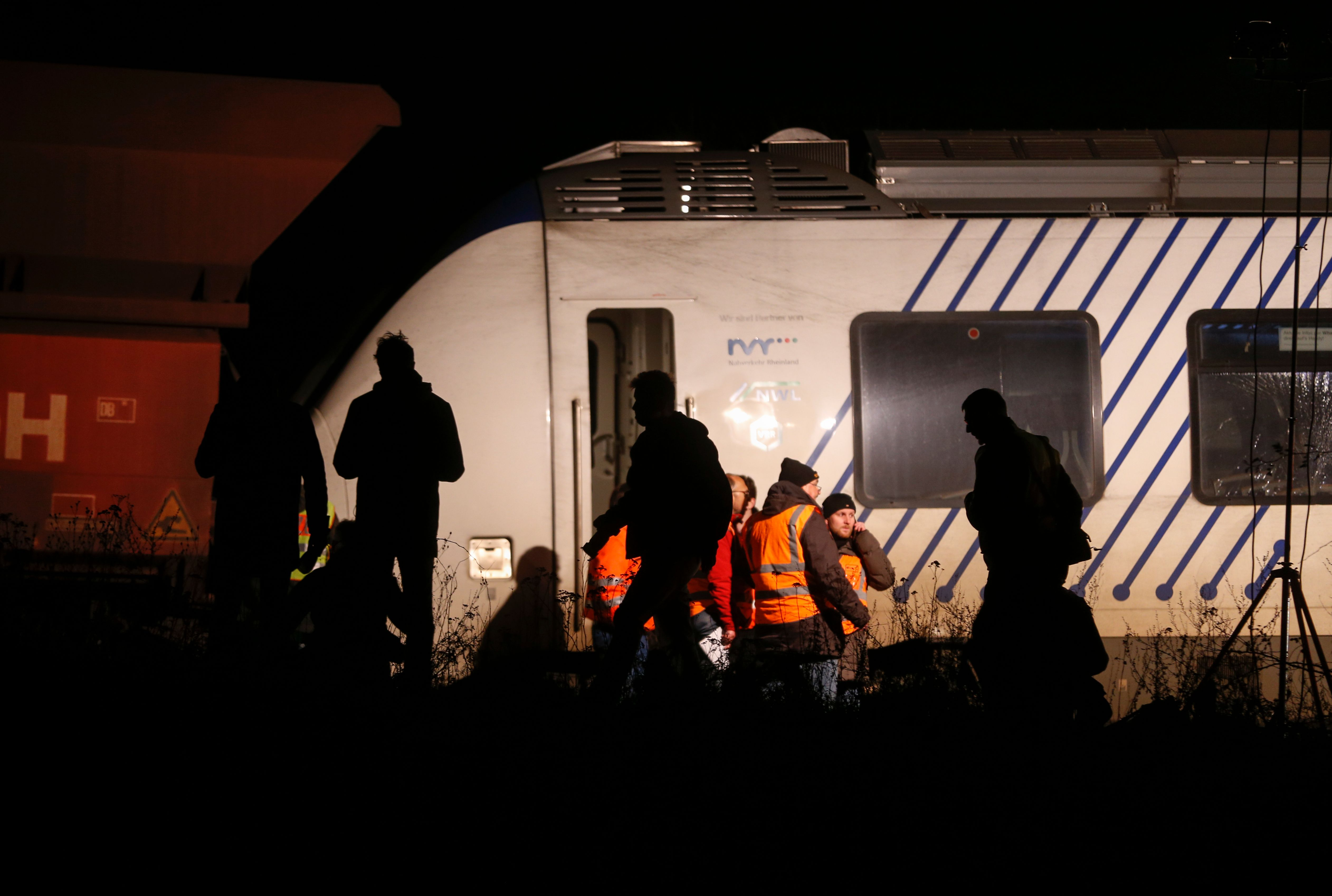 تصادم قطارين في ألمانيا