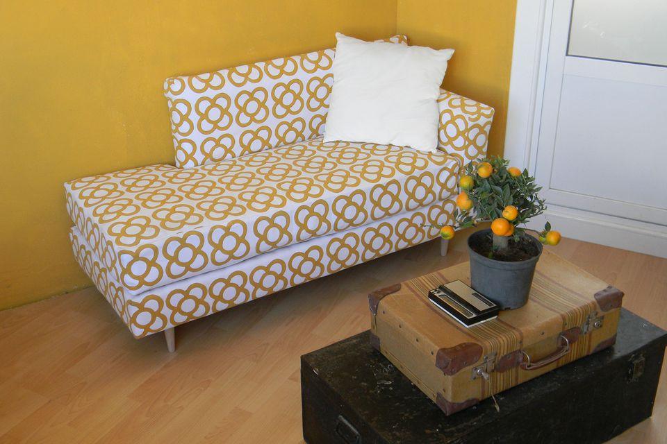 الأريكة القديمة