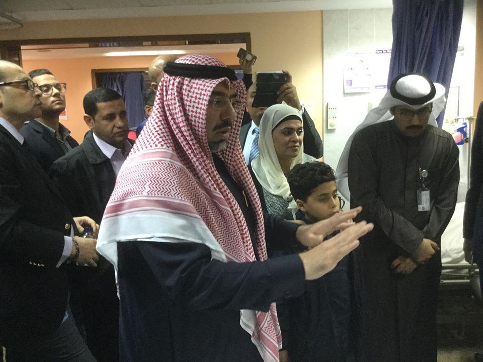 جانب من زيارة ويرة الهجرة للمواطن المصرى بالكويت  (1)