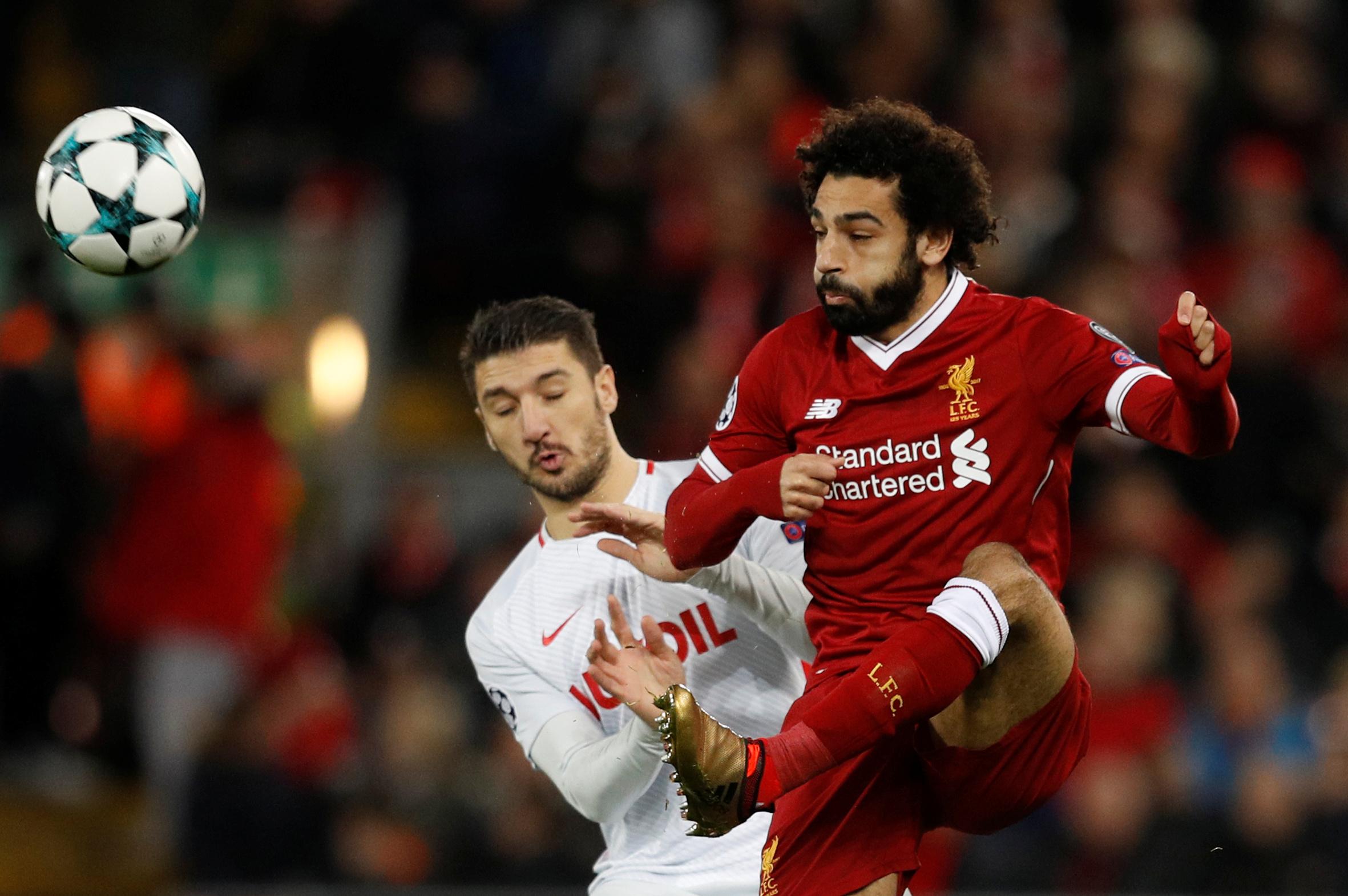محمد صلاح يتألق ويسجل فى مباراة ليفربول وسبارتاك موسكو  (3)