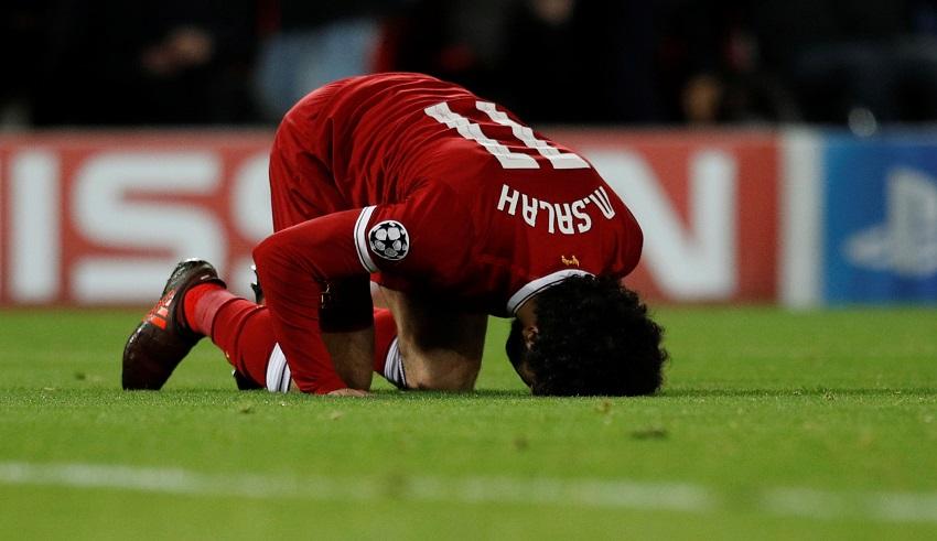 محمد صلاح يتألق ويسجل فى مباراة ليفربول وسبارتاك موسكو  (1)