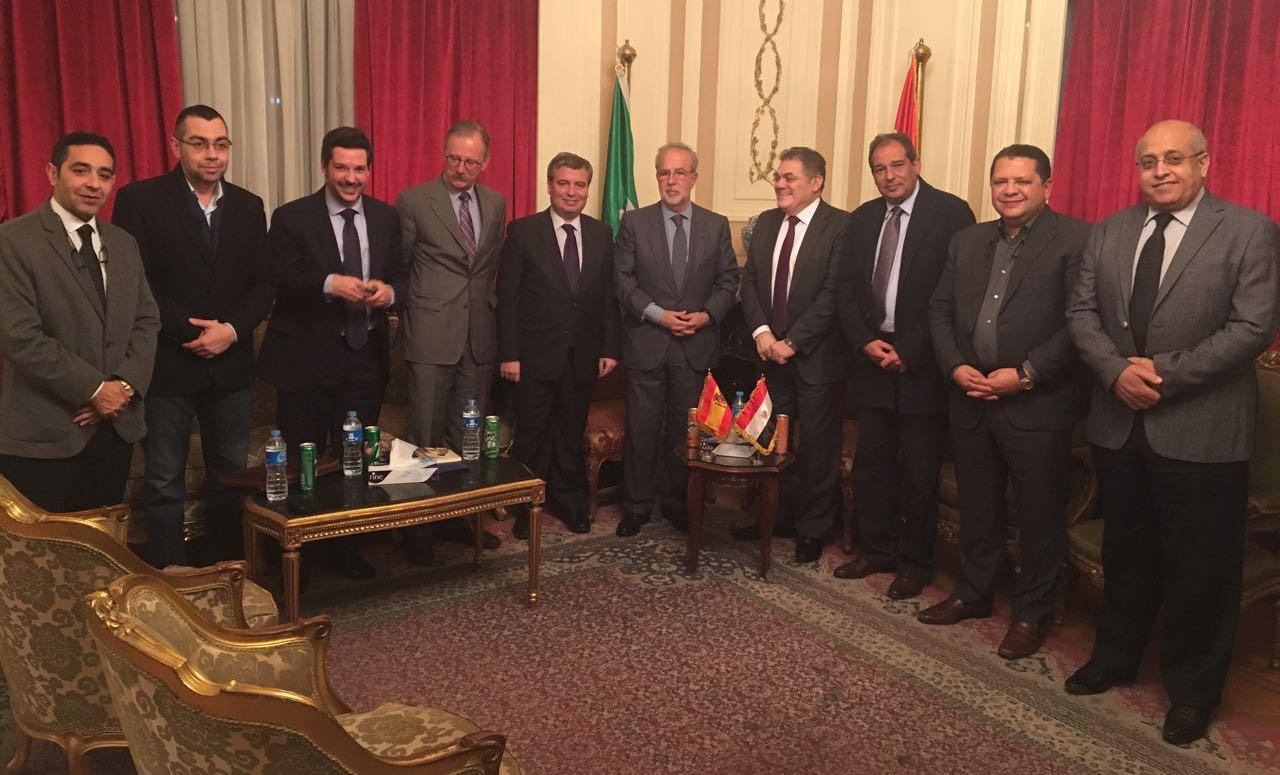 السيد البدوى يبحث مع سفير إسبانيا (4)