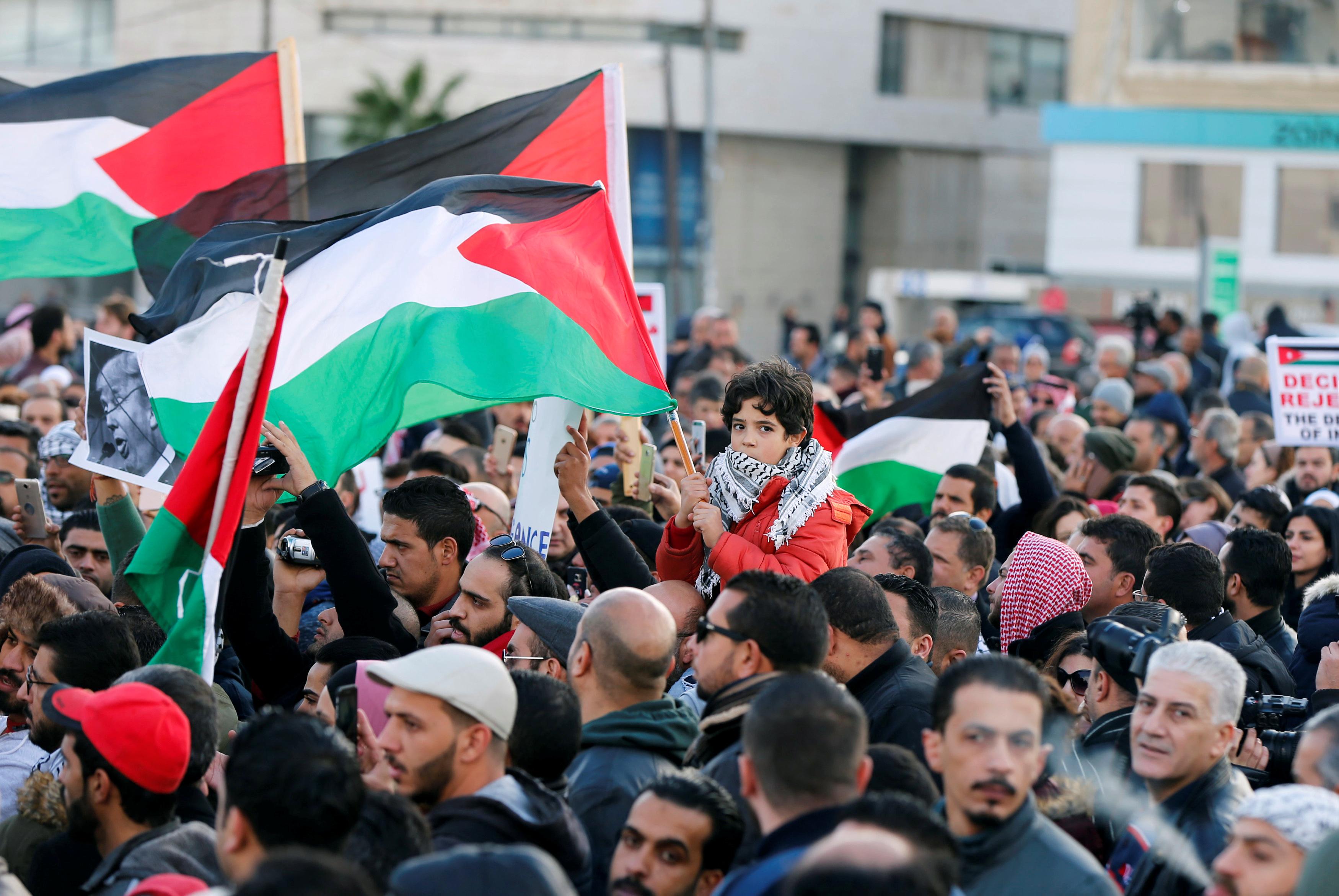 المظاهرات فى الأردن