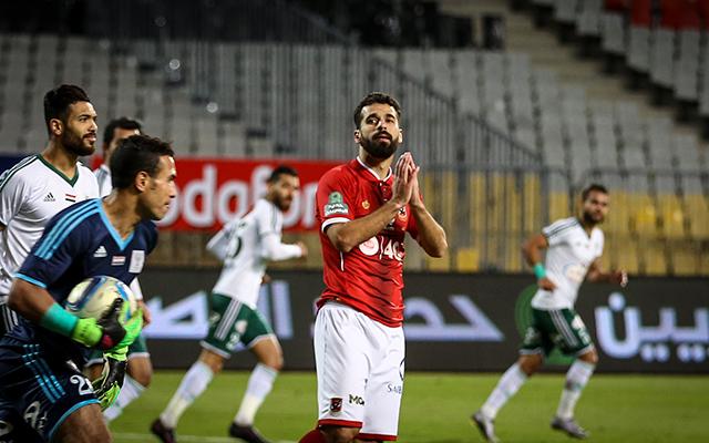 مباراة للاهلى و المصري