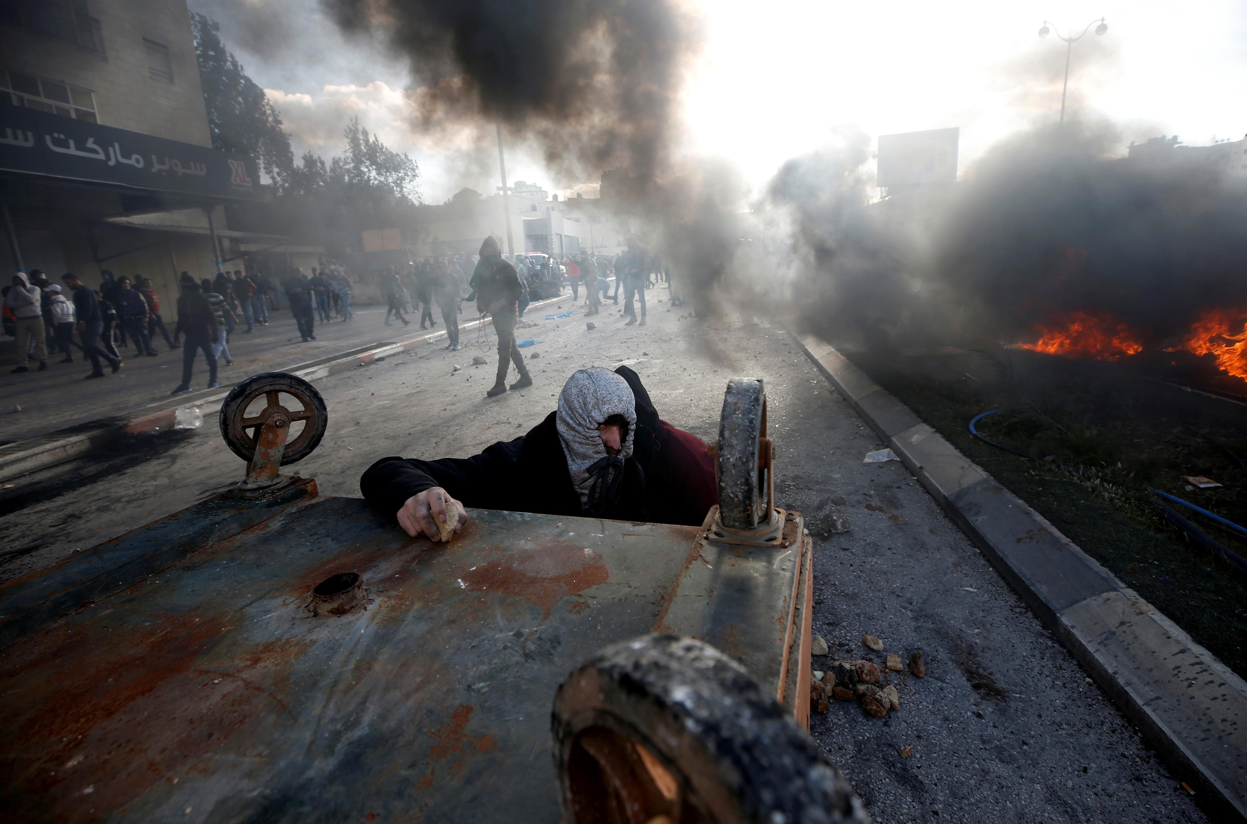 اشتباكات مع قوات الاحتلال الإسرائيلى