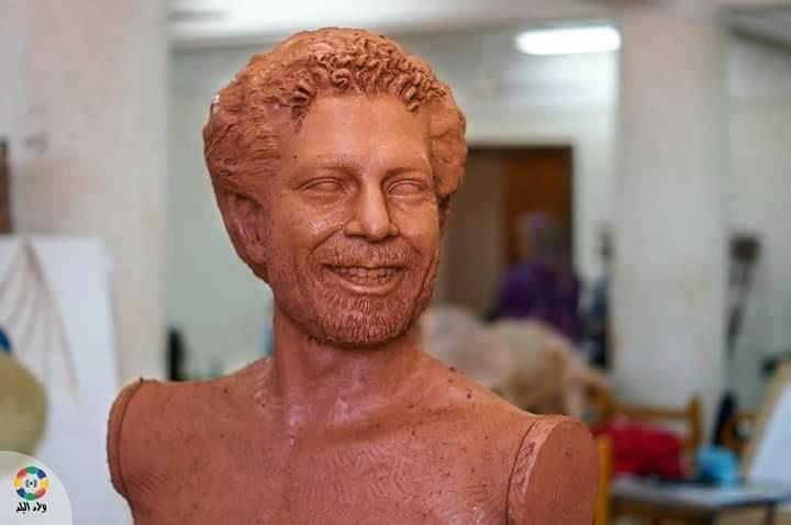 تمثال محمد صلاح  (1)