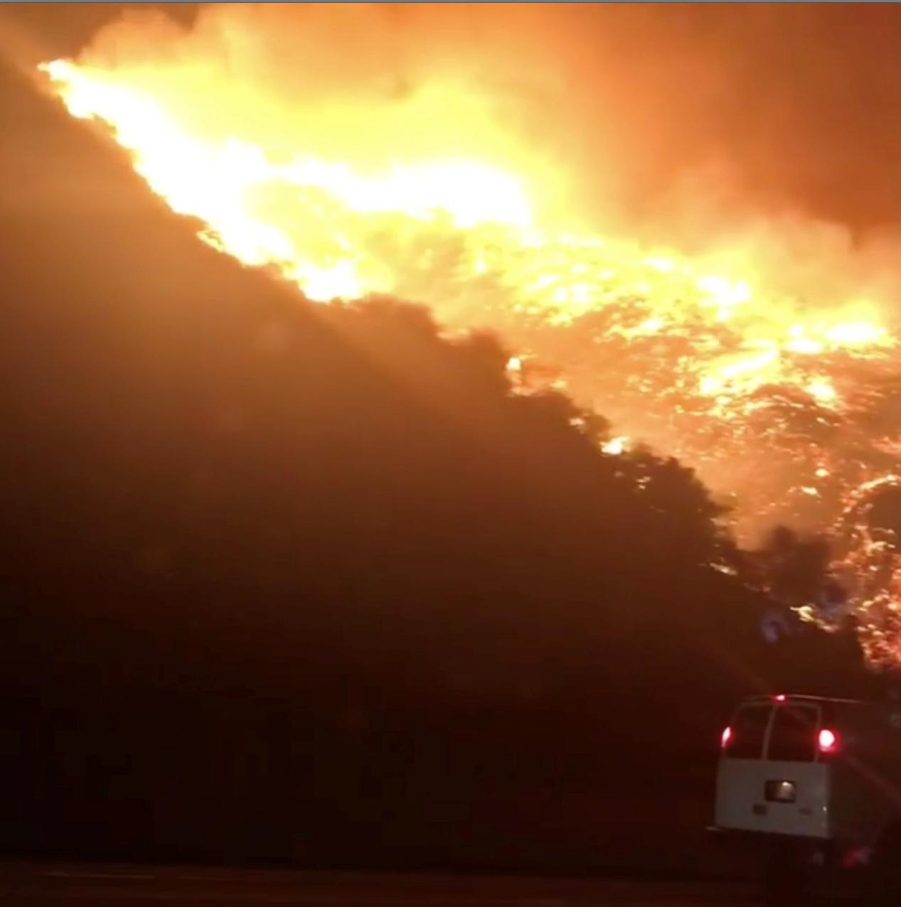 حرائق فى كاليفورنيا