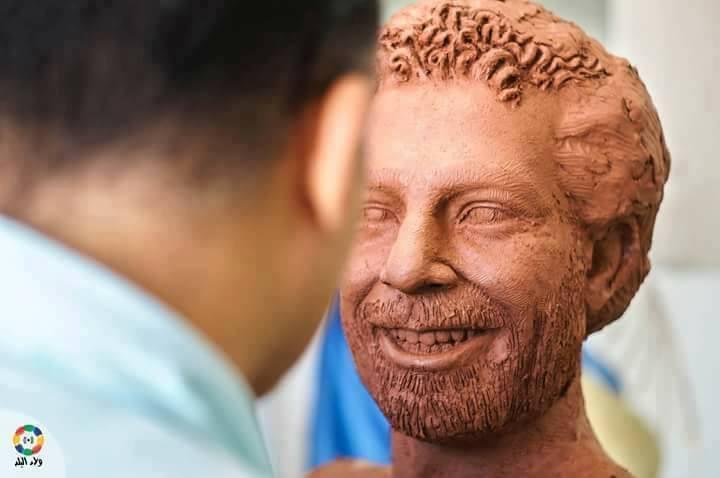 تمثال محمد صلاح  (3)