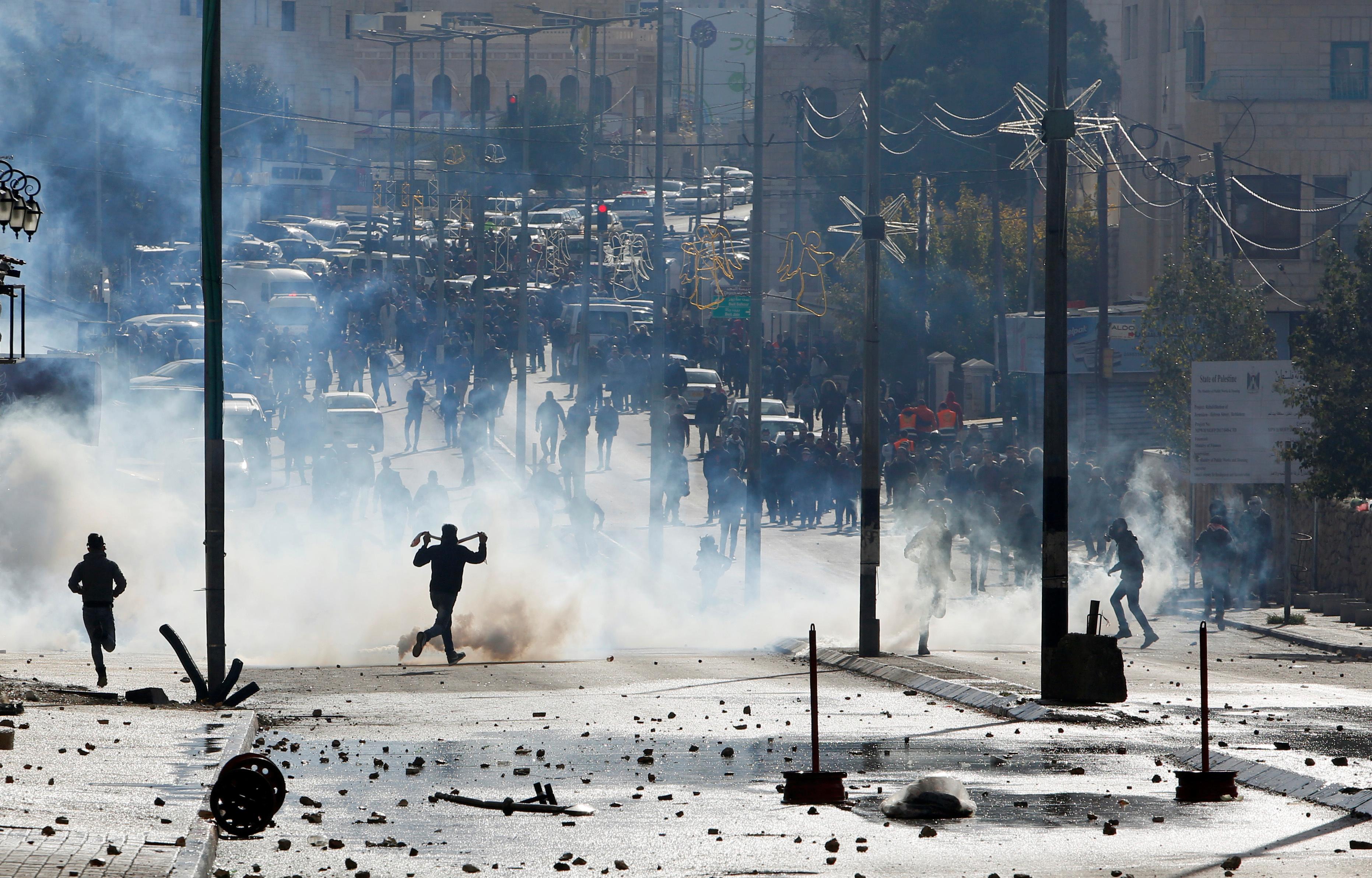 مظاهرات فلسطين - الانتفاضه الرابعه (1)