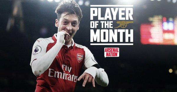 اوزيل أفضل لاعب فى أرسنال خلال شهر نوفمبر