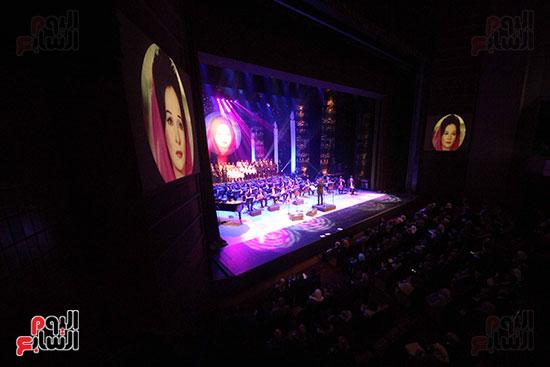 صور حفل وداعا شادية على المسرح الكبير بدار الأوبرا المصرية (2)