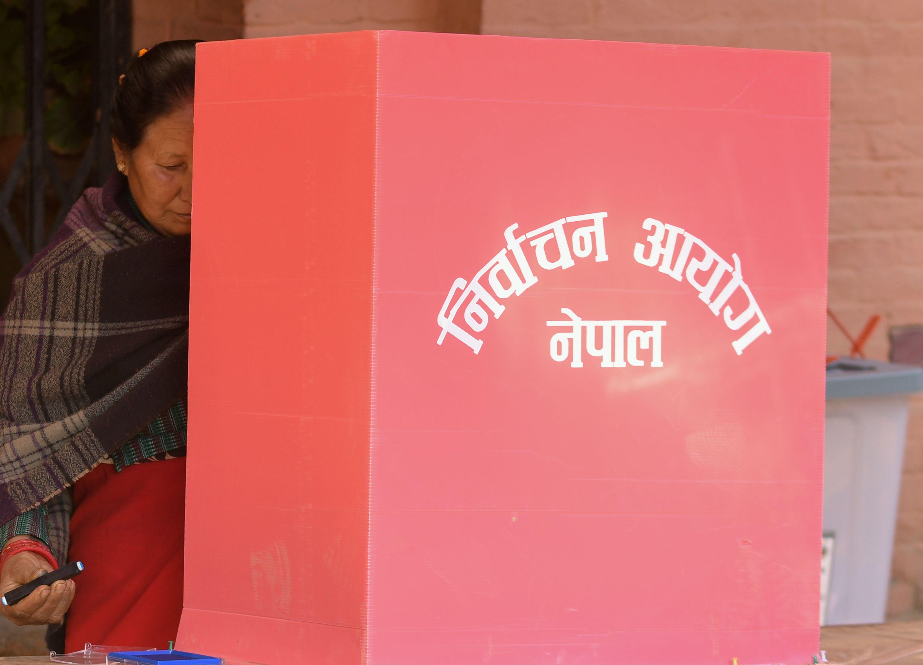 الانتخابات فى نيبال