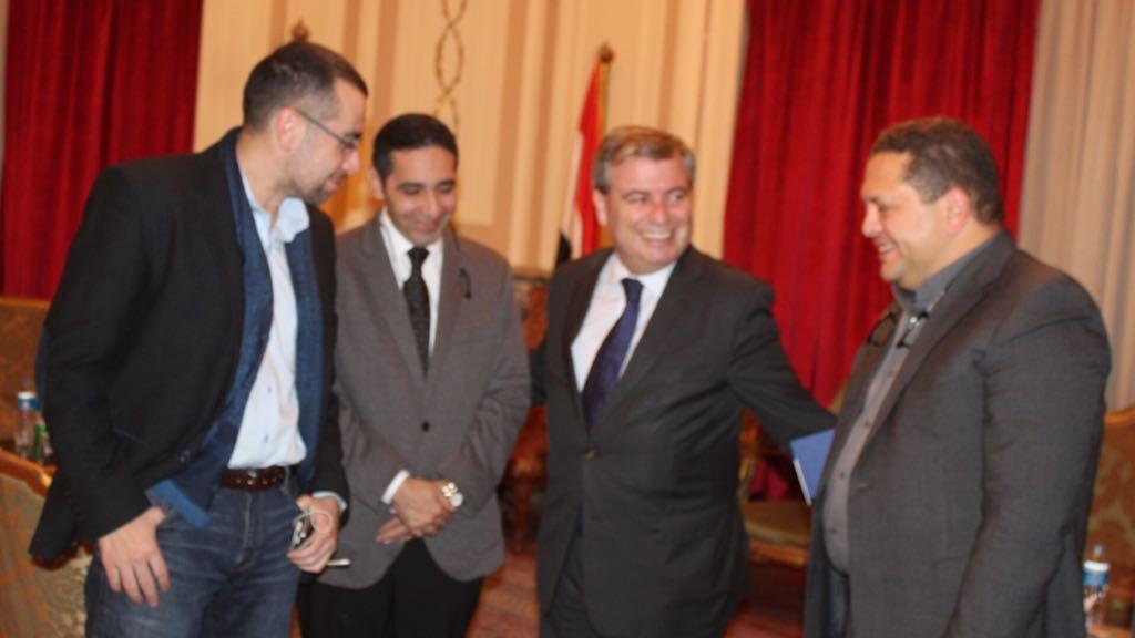 السيد البدوى يبحث مع سفير إسبانيا (3)