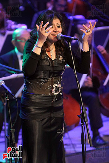 صور حفل وداعا شادية على المسرح الكبير بدار الأوبرا المصرية (15)
