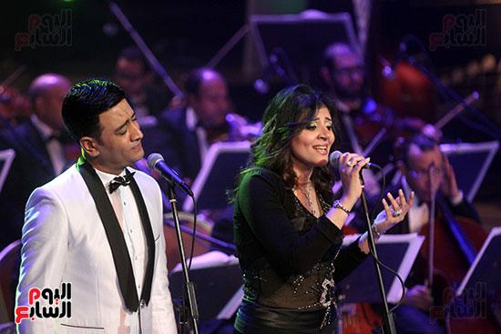 صور حفل وداعا شادية على المسرح الكبير بدار الأوبرا المصرية (20)