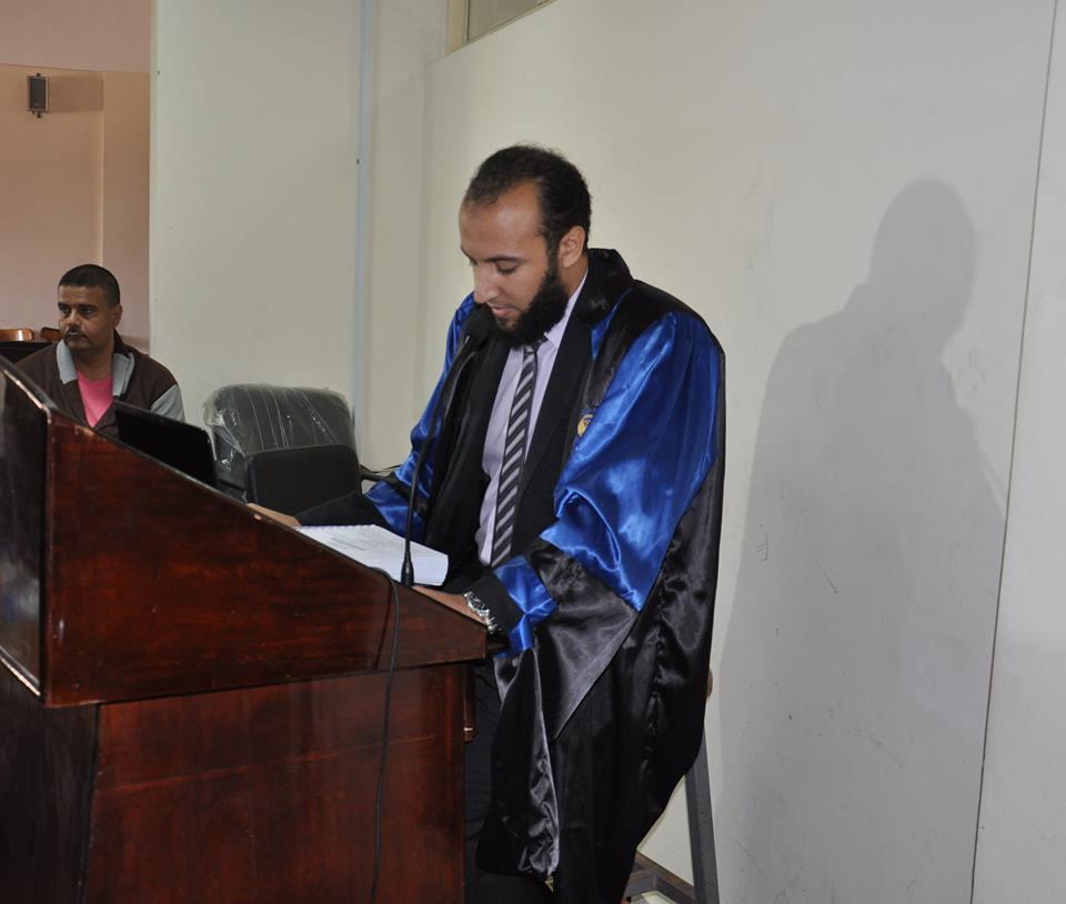الباحث حسام فايز عبد الحى