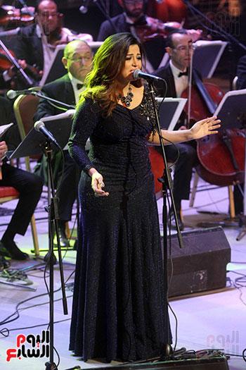 صور حفل وداعا شادية على المسرح الكبير بدار الأوبرا المصرية (18)