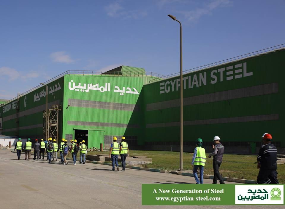 مصنع حديد المصريين ببنى سويف