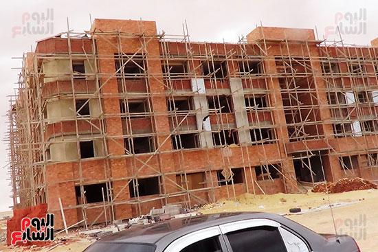 مبنى المرحلة الاولى لجامعة مطروح