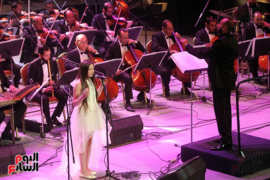 صور حفل وداعا شادية على المسرح الكبير بدار الأوبرا المصرية (7)