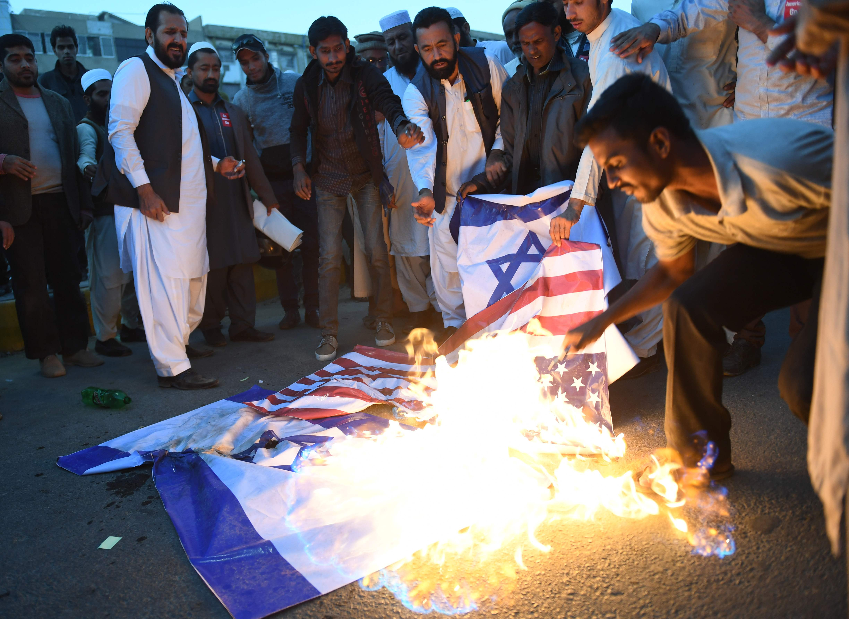 مظاهرات فى باكستان