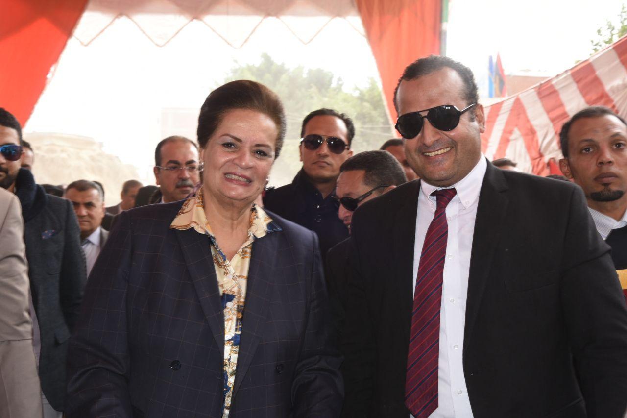 النائب محمد عماره ومحافظ البحيرة