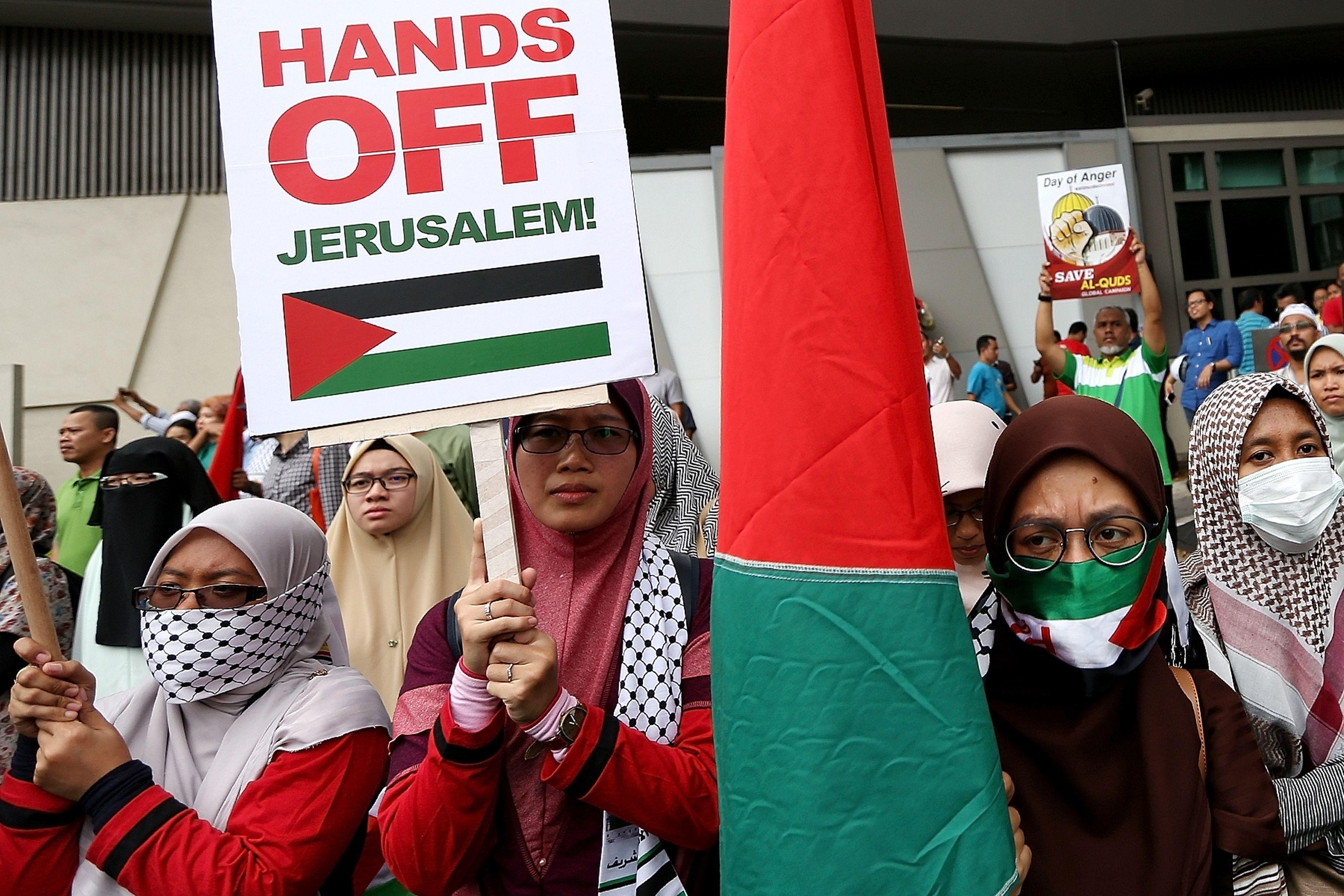 مظاهرة نسائية فى ماليزيا