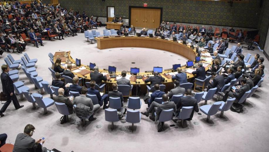 جلسة مجلس الأمن