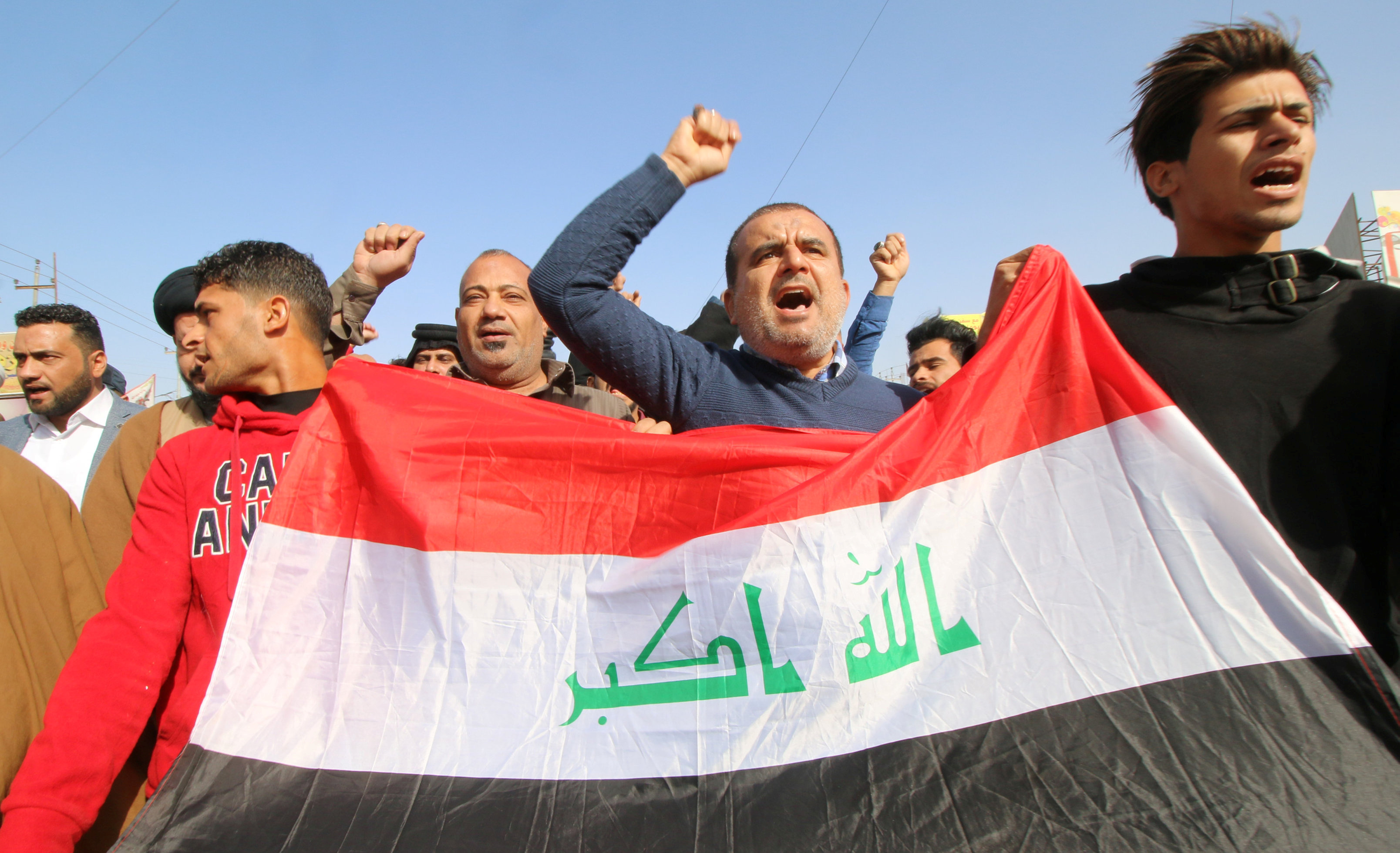 مسيرات فى العراق