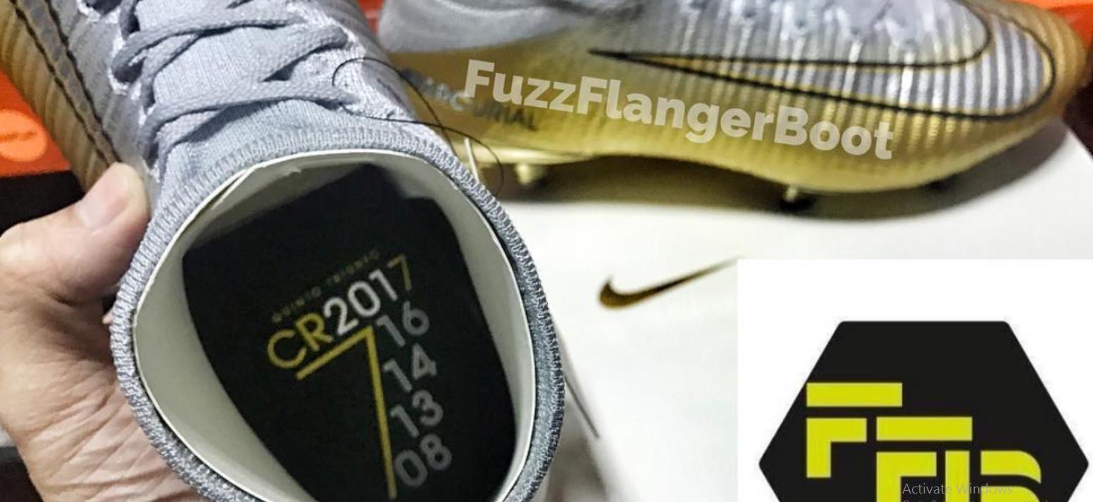 751ee7f12 صور.. حذاء جديد لرونالدو احتفالا بالكرة الذهبية - اليوم السابع