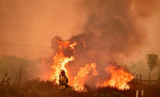 حرائق-كاليفورنيا