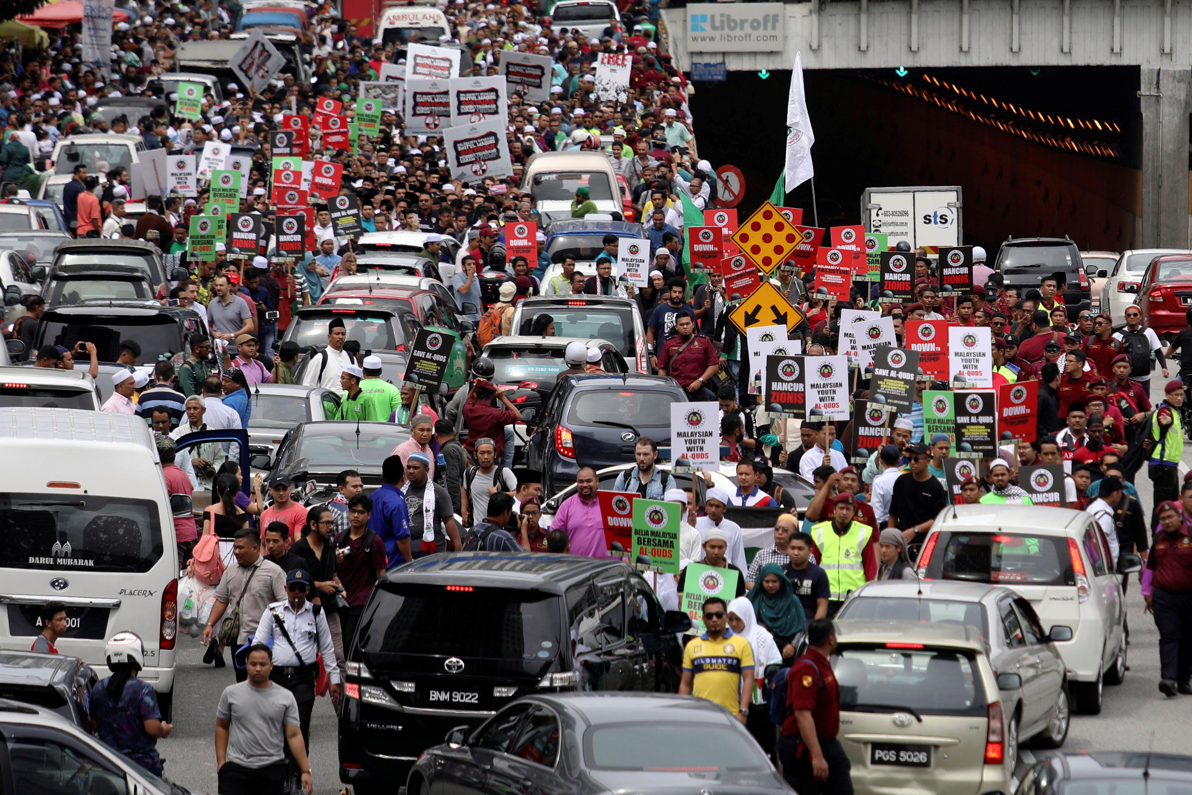 مسيرات فى ماليزيا