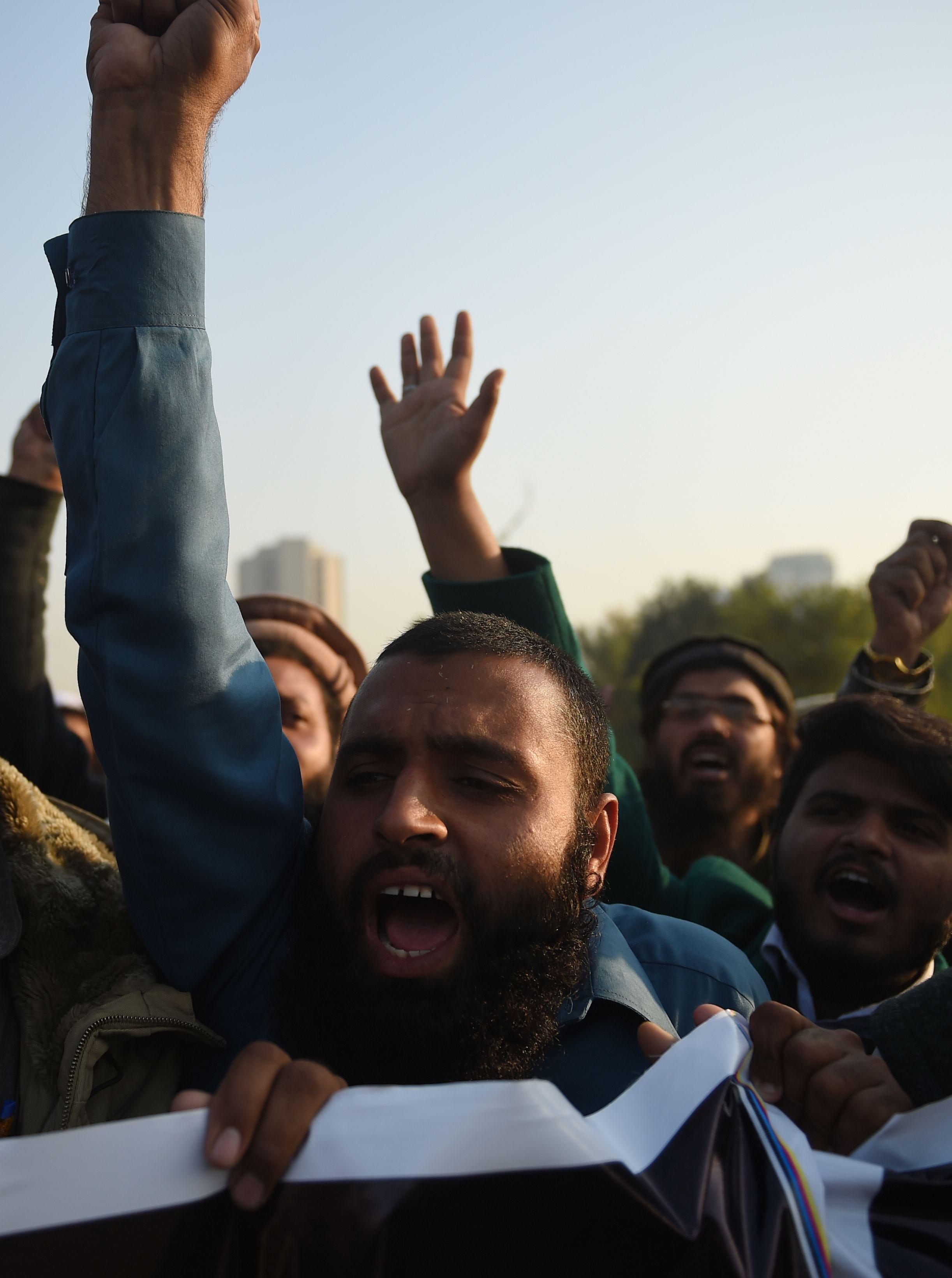 مظاهر الغضب فى باكستان