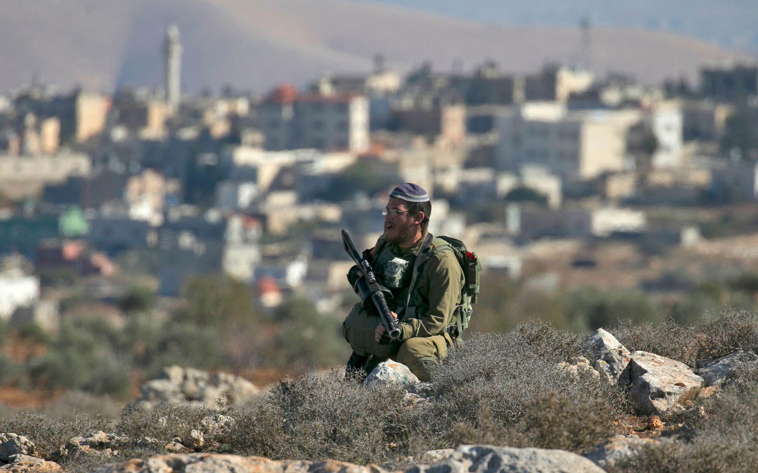أحد قوات الاحتلال الإسرائيلى