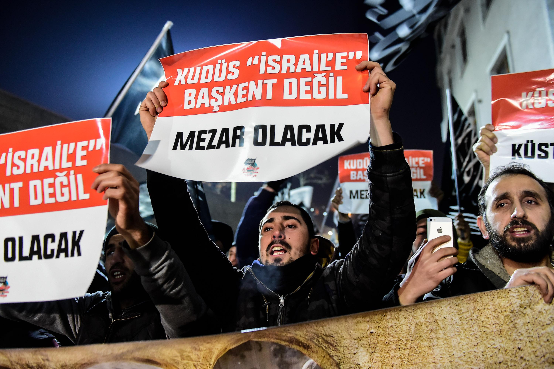 مظاهرة فى تركيا