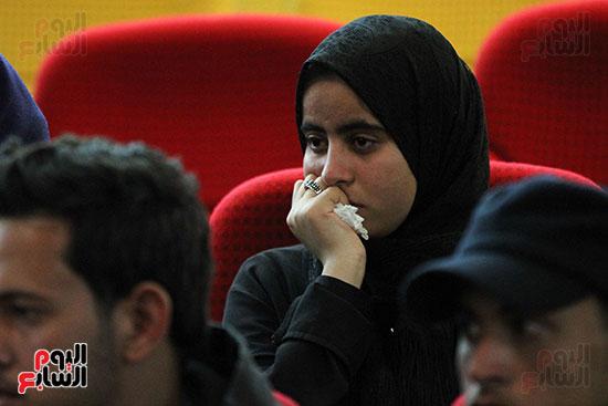 صور تكريم أسر الشهداء والمصابين بحادث الروضة الإرهابي (34)