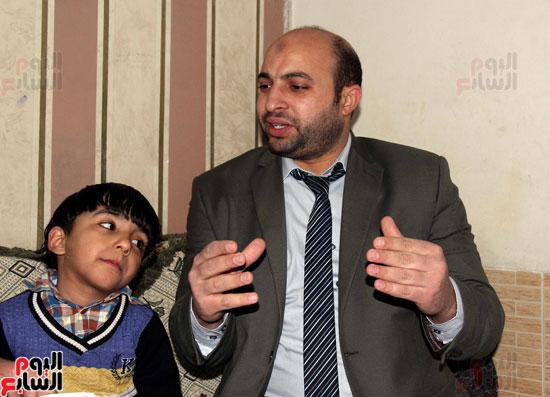 مدحت سلمان دفاع أسرة شهيد الشرطة