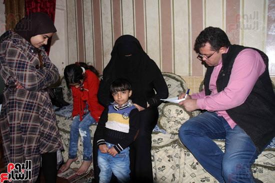 زوجة الشهيد تحكى لليوم السابع عن أخر حوار مع زوجها