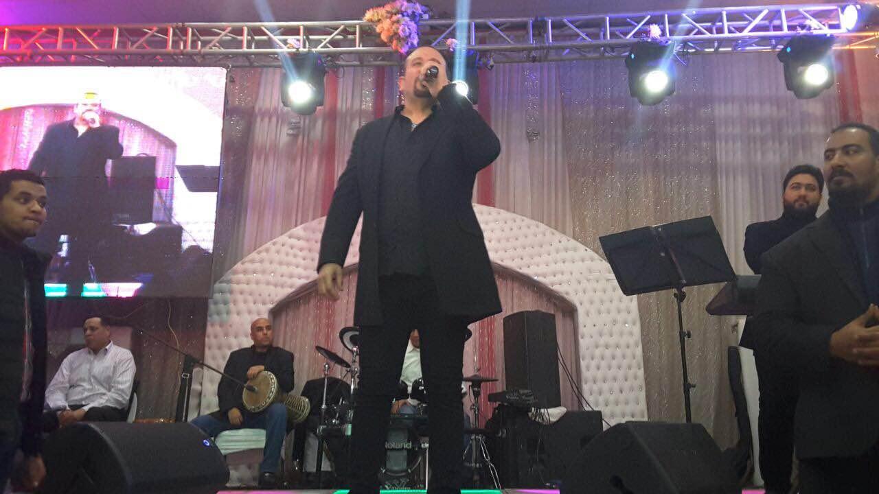 جانب من حفل هشام عباس بكوم حمادة بالبحيرة