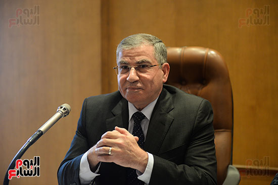 محمد مصيلحي وزير التموين