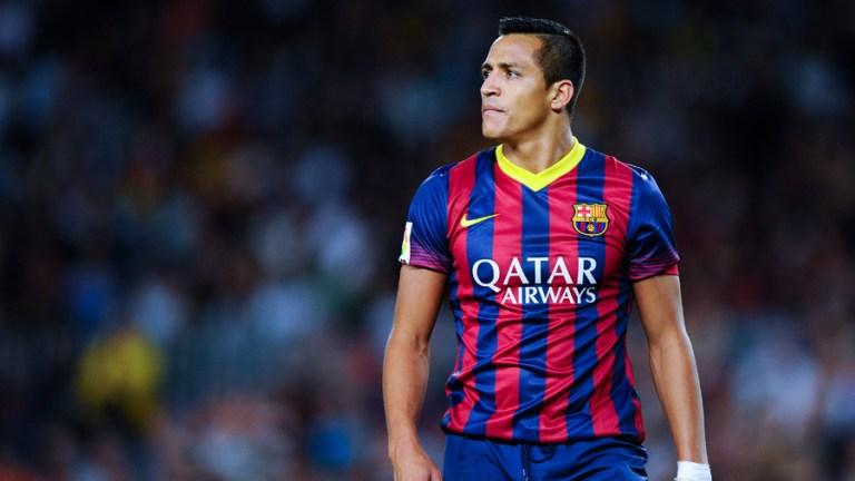 سانشيز لاعب برشلونة السابق وارسنال الحالى